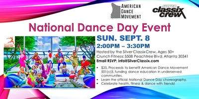 Silver Classix Crew - National Dance Day Event