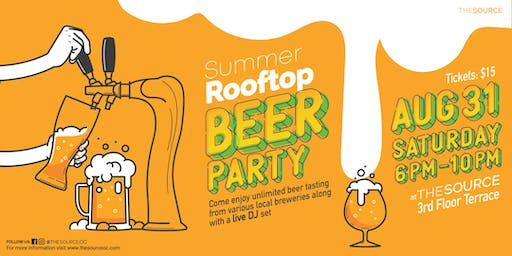 Summer Rooftop Beer Festival