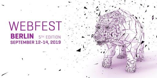 Webfest Berlin 2019