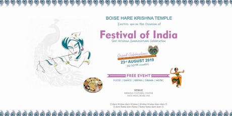 Festival of India tickets