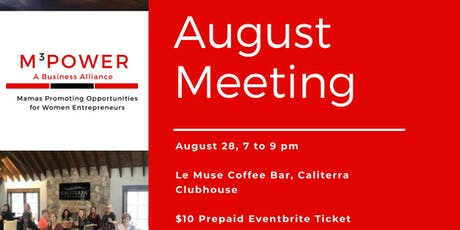 August MPOWER Meeting tickets