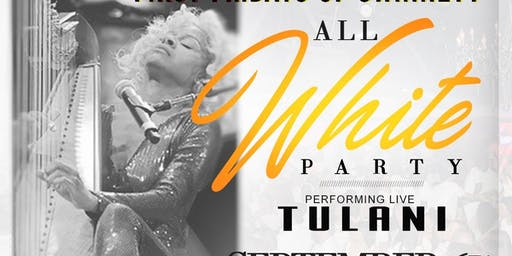 First Fridays of Gwinnett All White Party featuring TULANI