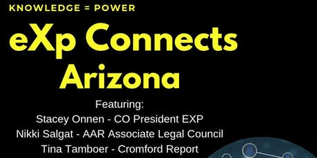 eXp Connects Arizona tickets