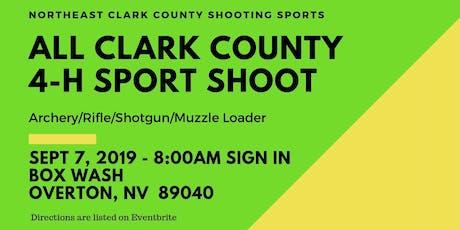 All Clark County 4-H Sport Shoot tickets