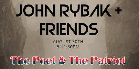 John Rybak + Friends at The Poet & The Patriot tickets