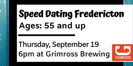 Speed Dating Fredericton - Ages: 55 and up tickets