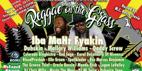 The 2nd Annual Reggae On The Grass: Free The People With Music - Rescheduled tickets
