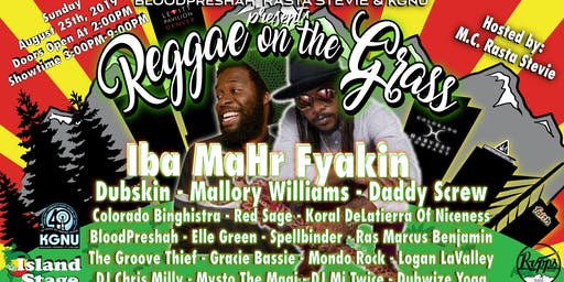 The 2nd Annual Reggae On The Grass: Free The People With Music - Rescheduled