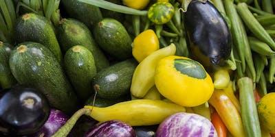 Cultivando y Vendiendo Cosechas para Mercados Agrícolas-Sábado, Septiembre 21, 2019 9:30am-noon