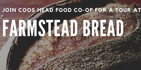 Farmstead Bread Tour  tickets