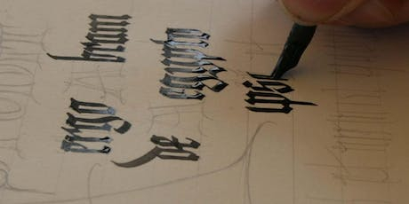 Medieval Calligraphy Workshop - full day tickets