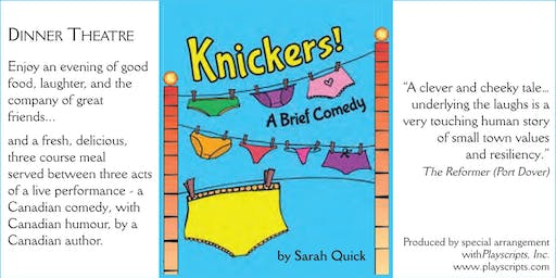 Copy of Copy of Knickers - Dinner Theatre