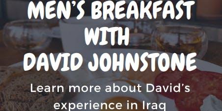 Men's Breakfast with David Johnstone