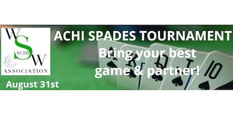 ACHI Spades Tournament  tickets