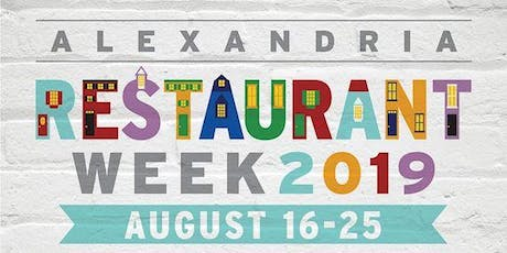 Trademark Drink and Eat: Alexandria Restaurant Week tickets