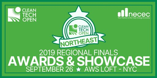 2019 Cleantech Open Northeast Regional Finals: Awards & Showcase