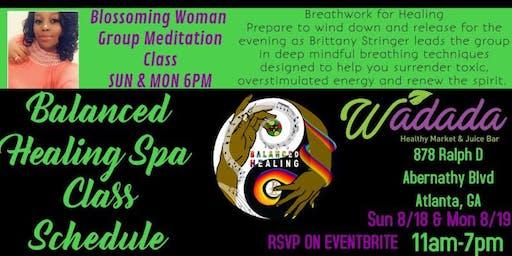 Breathwork for Healing Group Meditation Class