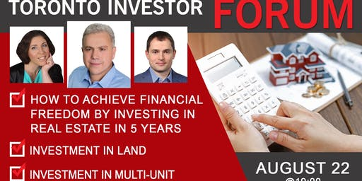 How to achieve financial freedom by investing in Real Estate in 5 years.