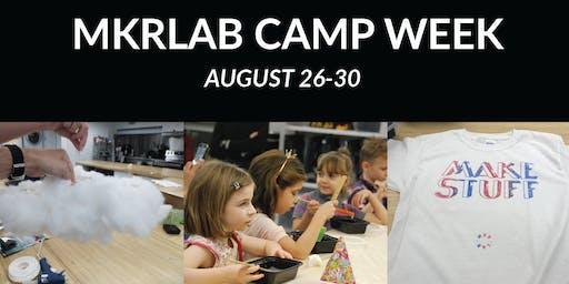 MKRLAB Camp Week