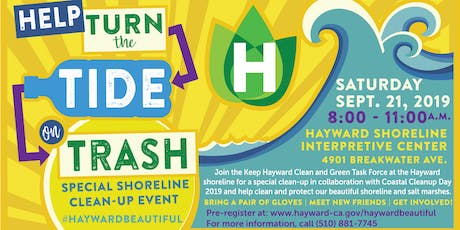 Special Shoreline Clean-up Event  tickets