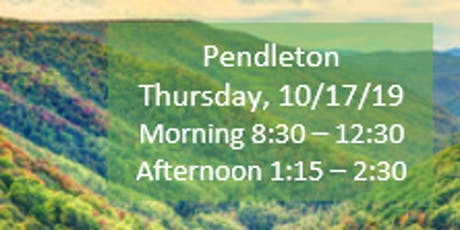 Pendleton Morning Fall Regional Training SECC/Child Find/Data Manager tickets