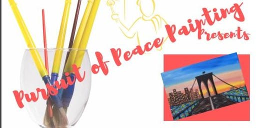 Paint & Sip with Pursuit of Peace Painting
