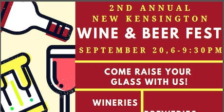 New Kensington Wine & Beer Festival tickets