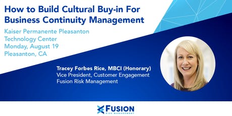 How to Build Cultural Buy-in For Business Continuity Management tickets