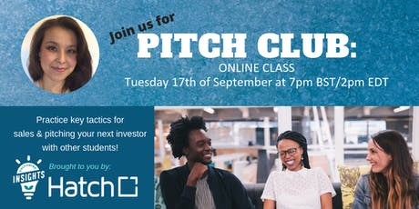 Pitch Club: Return of the Volley - Sales and Negotiation workshop - September 2019 tickets
