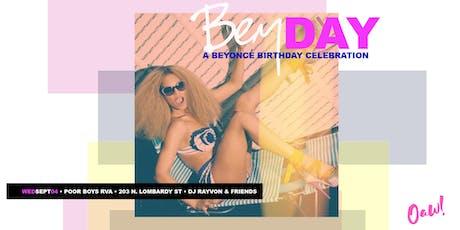 Bey Day: A Beyonce' Birthday Celebration tickets