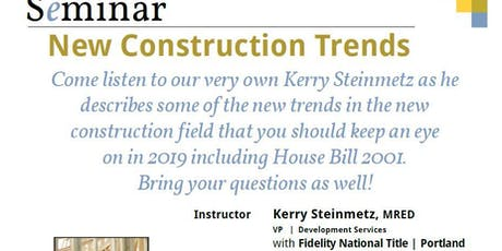 New Construction Trends Course  tickets