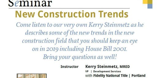 New Construction Trends Course
