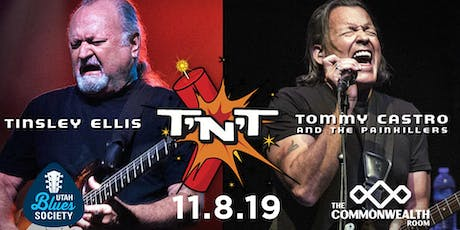 Tommy Castro & Tinsley Ellis - The T'n'T Tour tickets