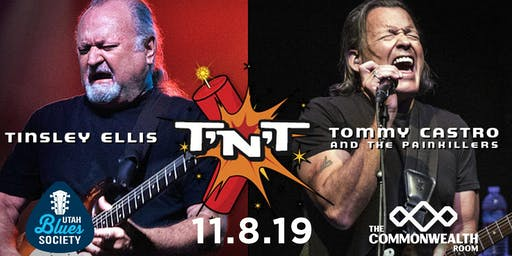 Tommy Castro & Tinsley Ellis - The T'n'T Tour