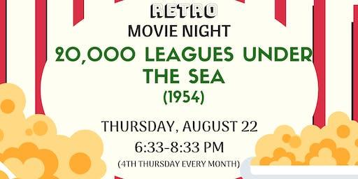 Retro Movie night - 20,000 Leagues  Under the Sea