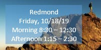 Redmond Morning Fall Regional Training SECC/Child Find/Data Manager