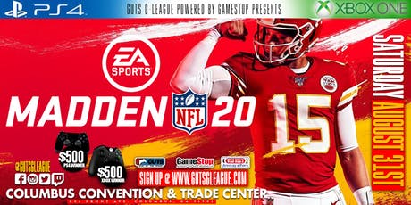 $1000 Madden 20 PS4 & Xbox One Tournament tickets