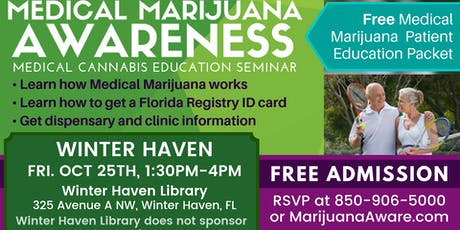 Winter Haven- Medical Marijuana Awareness Seminar tickets