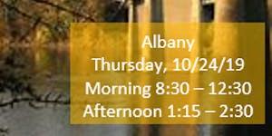 Albany Morning Fall Regional Training SECC/Child...