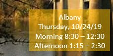 Albany Morning Fall Regional Training SECC/Child Find/Data Manager
