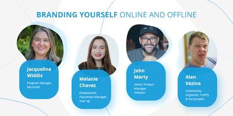 Branding Yourself Online and Offline tickets