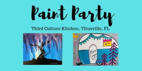 Paint Night @Third Culture Kitchen  tickets