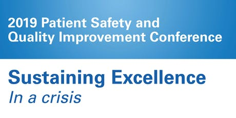 2020 Patient Safety and Quality Improvement Conference tickets