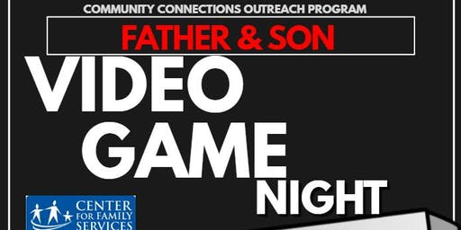 Father and Son: Video Game Night