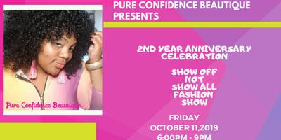 Pure Confidence Beautique's Show Off Not Show  All Mini Fashion Show