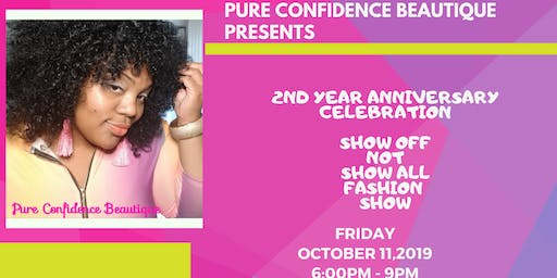 Pure Confidence Beautique's Show Off Not Show  All Mini Fashion Show