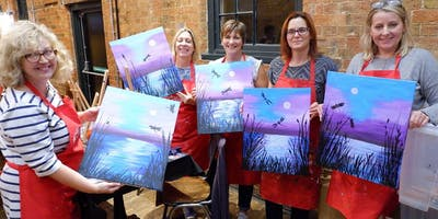 Dance of the Dragonflies Brush Party - Harrow Weald