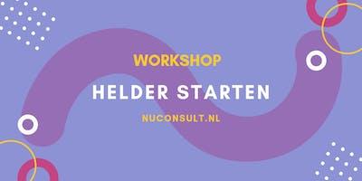 Workshop Helder Starten met Ondernemen