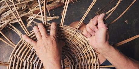 Basket Weaving: Round Split Handle tickets