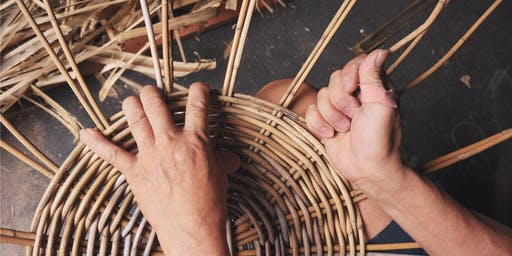 Basket Weaving: Round Split Handle